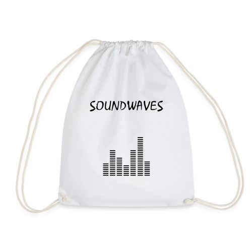 Soundwaves - spectrum - Drawstring Bag