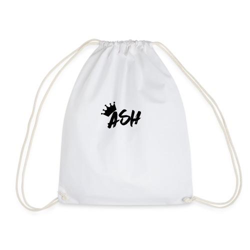 Ash Gautam T-SHIRT//YOUTUBE MERCHANDISE - Drawstring Bag