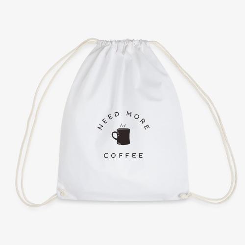 Need More Coffee - Turnbeutel