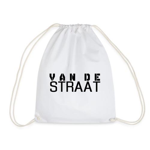 Van De Straat - Wit - Gymtas