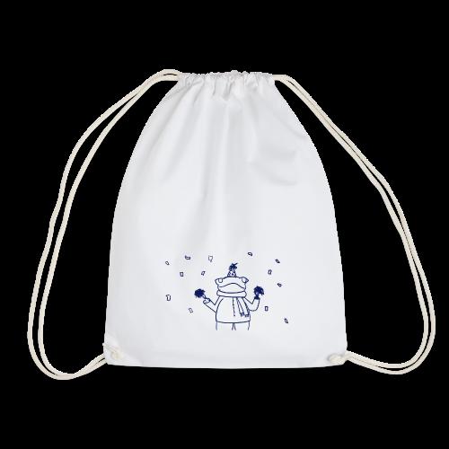 Confetti Frog - Drawstring Bag