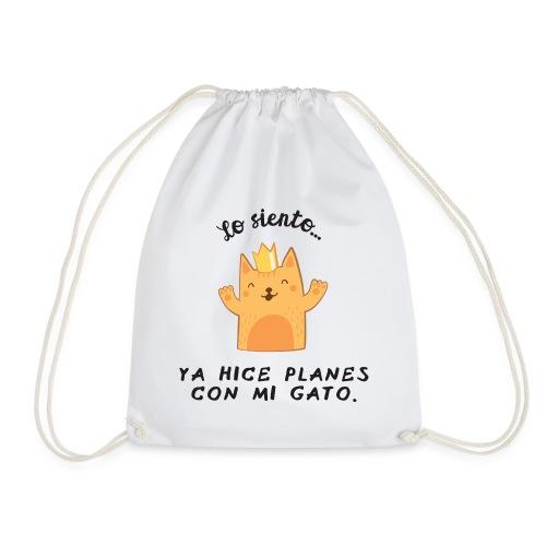 Planes con mi gato - Mochila saco