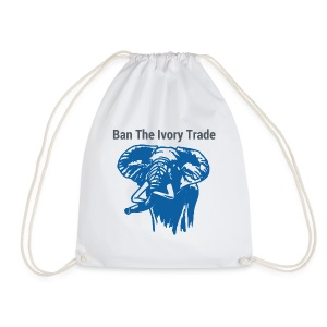 Ban The Ivory Trade - Turnbeutel