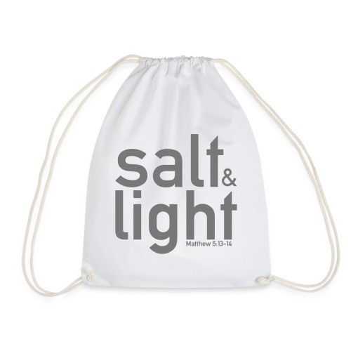 Salt & Light - Matthew 5: 13-14 - Drawstring Bag