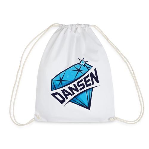 Dansen Logo Full Print - Turnbeutel