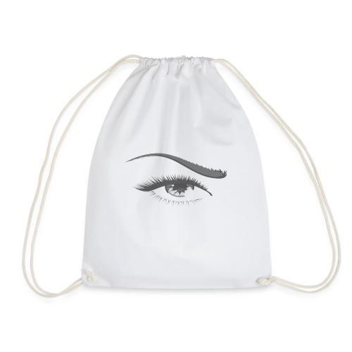 Augenlicht -Schwarz Weiß - Turnbeutel