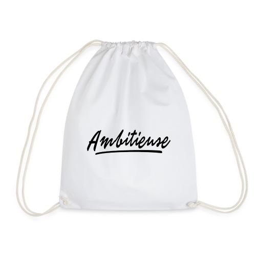 Ambitieuse (black letters) - Sac de sport léger
