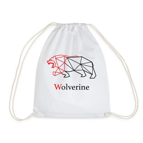 wolverine amine - Drawstring Bag