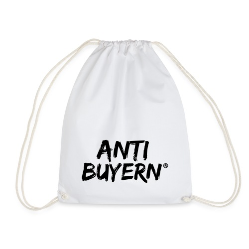 ANTI BUYERN BLACK - Turnbeutel