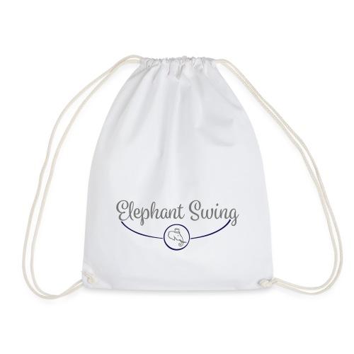 Elephant Swing Logo - Turnbeutel