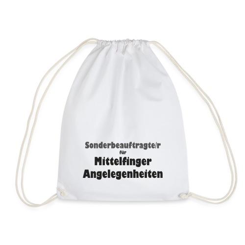 Mittelfinger - Turnbeutel