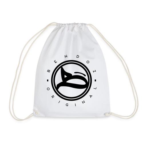 B - Logo / circular_black - Turnbeutel