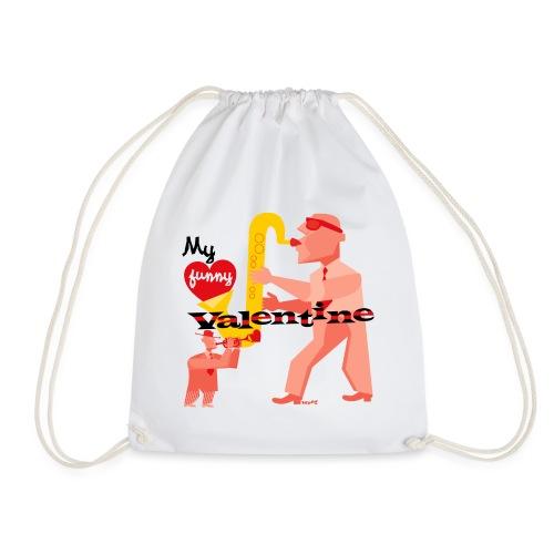 My funny valentine. jazz - Drawstring Bag