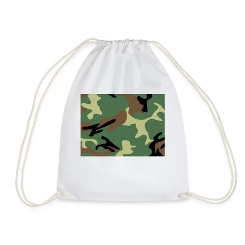 Camo_SJA - Drawstring Bag