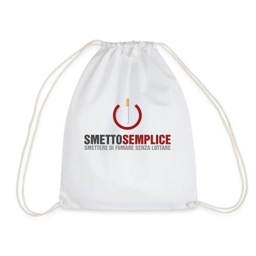 Smetto Semplice - Sacca sportiva