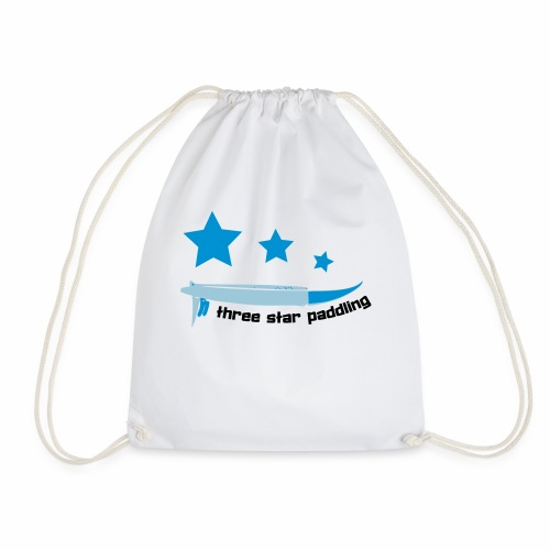 Drei Sterne paddeln Stand Up Paddle See Geschenk - Turnbeutel
