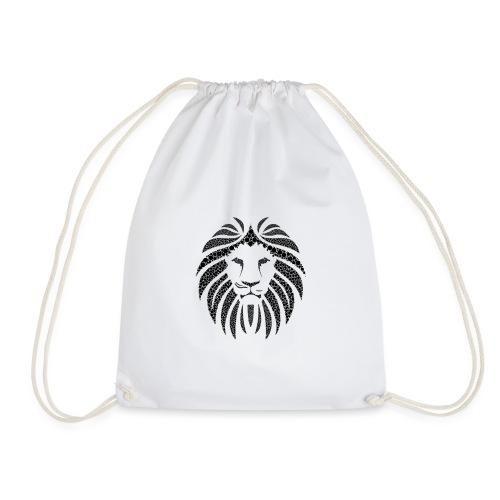 MonkeyShy lion noir symétrique - Sac de sport léger