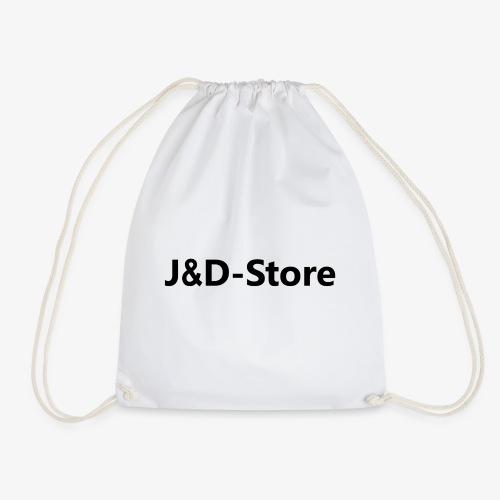 J&D-Store weiß - Turnbeutel