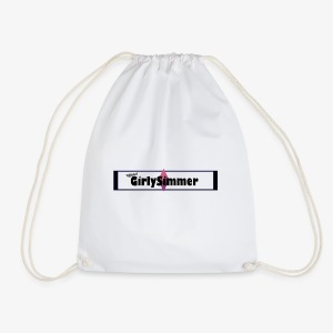 OfficialGirlySimmer Header Design - Drawstring Bag