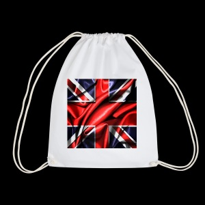 Union Jack design - Drawstring Bag