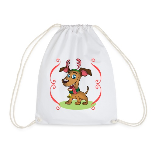 Lilo the Dog - Christmas - Turnbeutel