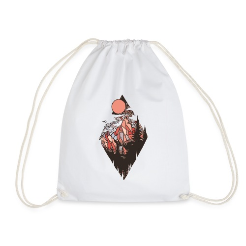Black Bear Mountain - Drawstring Bag