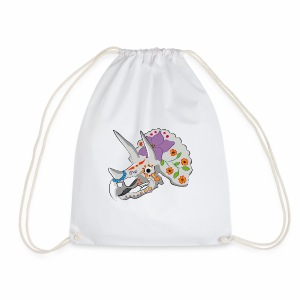 Day of the extinct: Triceratops - Drawstring Bag