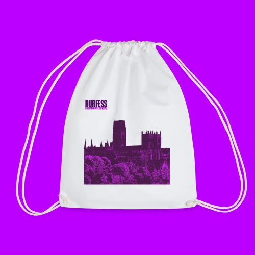 Square Durfess Logo - Cathedral Only - Drawstring Bag