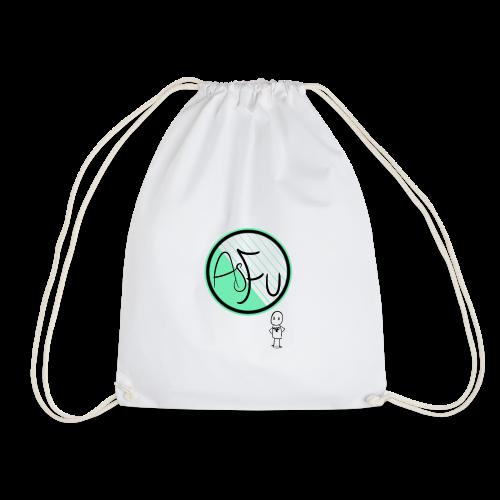 MintAsFu Logo - Drawstring Bag