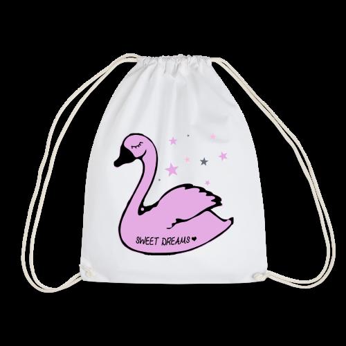 swan sweet dreams - Turnbeutel