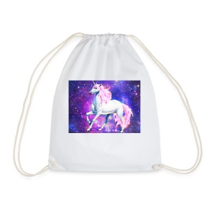 Magical unicorn shirt - Drawstring Bag