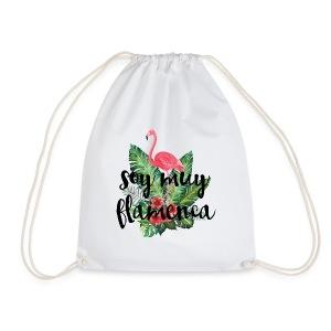soy muy flamenca flamingo - Mochila saco