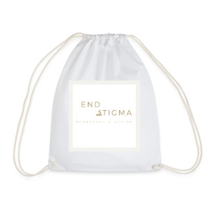 '#End the stigma' of mental health - Drawstring Bag