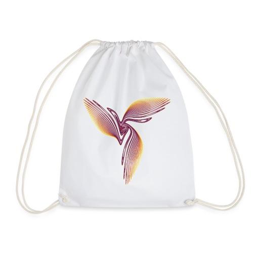 Bird of Paradise Cockatoo Icarus Chaos 4398I - Drawstring Bag