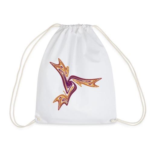 Starfish Sea Urths Marine Animals Ocean Chaos 4054I - Drawstring Bag