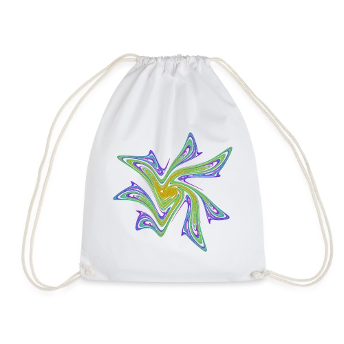 Starfish Sea Urths Marine Animals Ocean Chaos 2721grbw - Drawstring Bag