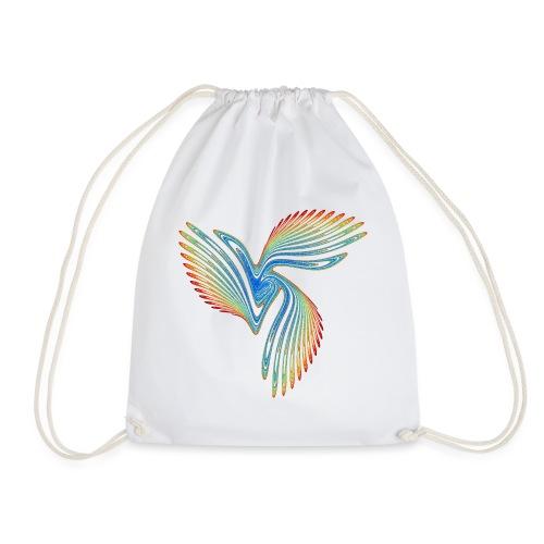 Vogel Bird of Paradise Cockatoo Icarus Chaos 2944j - Drawstring Bag
