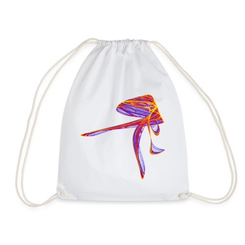 Someone is in a hurry Elegant lady 2366bry - Drawstring Bag