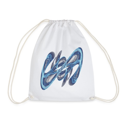 Secret sign from chaos theory 7545 ice - Drawstring Bag