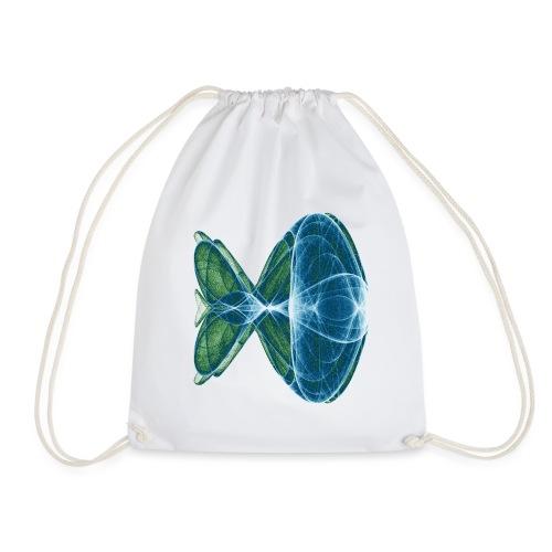 Magic fish 8195 ocean - Drawstring Bag