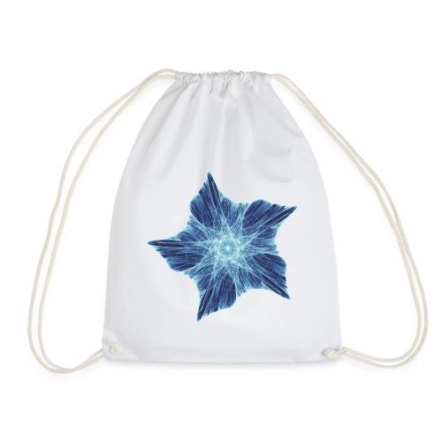 Royal blue starfish 9872 ice - Drawstring Bag