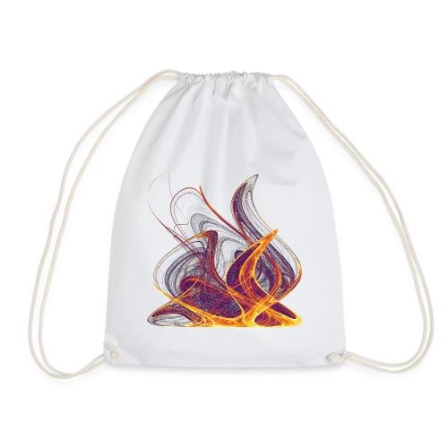 Log fire Campfire Flame flame fire 12435i - Drawstring Bag