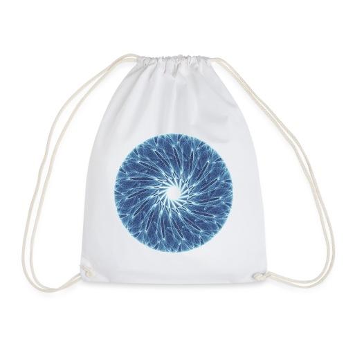 Chakra Mandala Mantra OM Chaos Star Circle 12260ic - Drawstring Bag