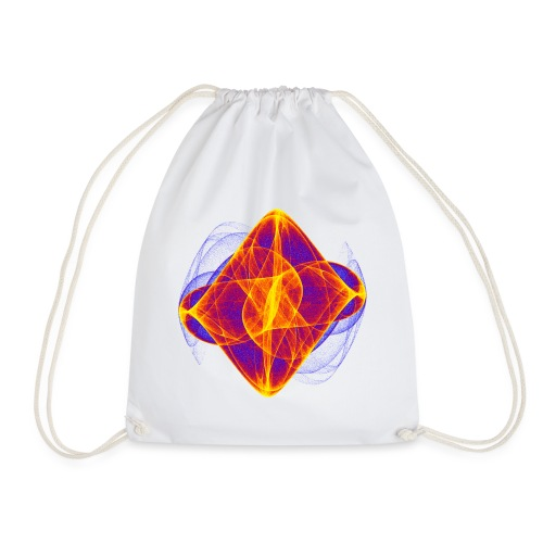Watercolor art graphic painting picture chaos 6769bry - Drawstring Bag