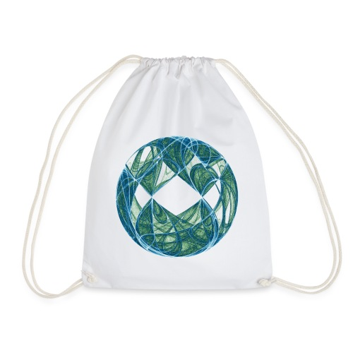 Harmony in the Ocean of Elements 446oce - Drawstring Bag