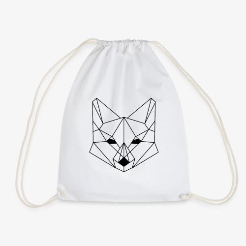 Geometrischer Fuchs - Turnbeutel