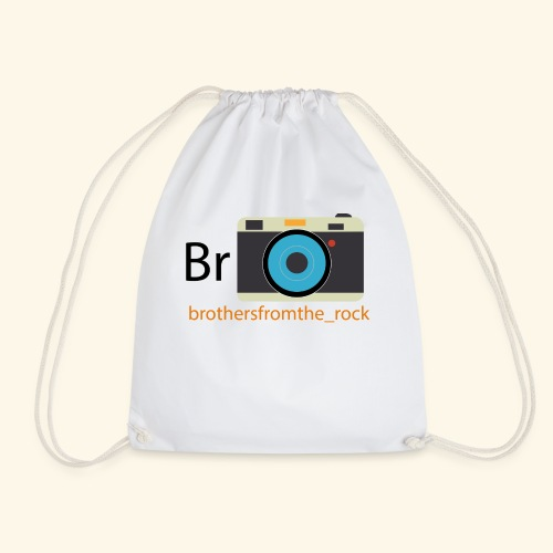 Brothers from the rock - Drawstring Bag