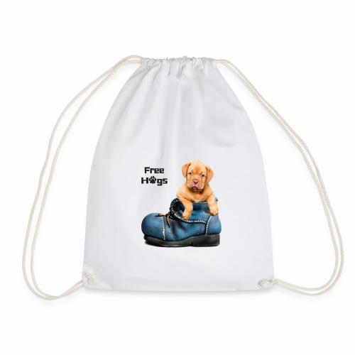 free hugs dog t-shirt - Sac de sport léger