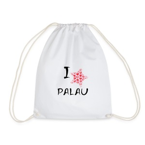 I Love Palau - Drawstring Bag