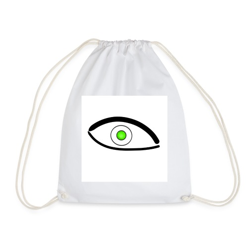 Eye green logo - Drawstring Bag
